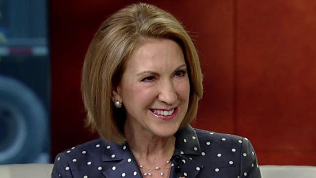 Carly Fiorina explains why she's running for president