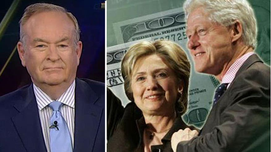 'The Factor' host talks Clinton Cash controversy