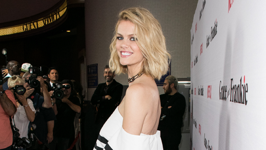 "Actress and model Brooklyn Decker tells us about her new Netflix show ""Grace and Frankie."""