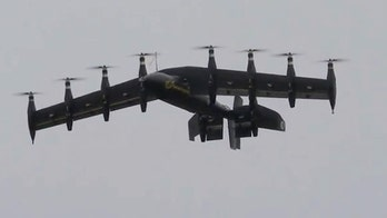 NASA Langley Research Center tests new aircraft that merges plane, helicopter technology