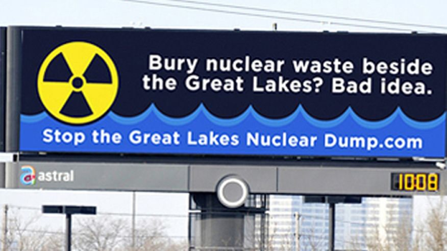 Canadian plan to bury nuclear waste near Lake Huron has sparked fear and outrage from Michigan residents