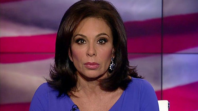 Judge Jeanine: Free speech in America is non-negotiable