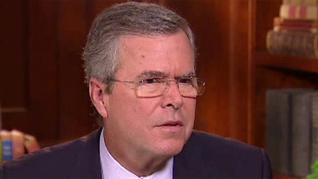 Jeb Bush says he would have authorized the war in Iraq