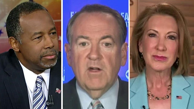 Newcomers to GOP presidential race struggle on Sunday shows