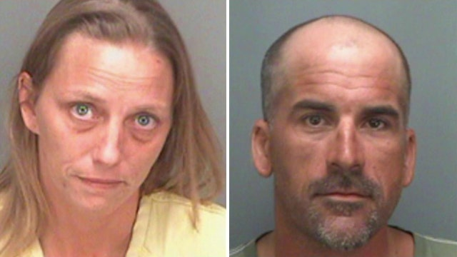 Couple arrested for allegedly using drugs to bribe daughters
