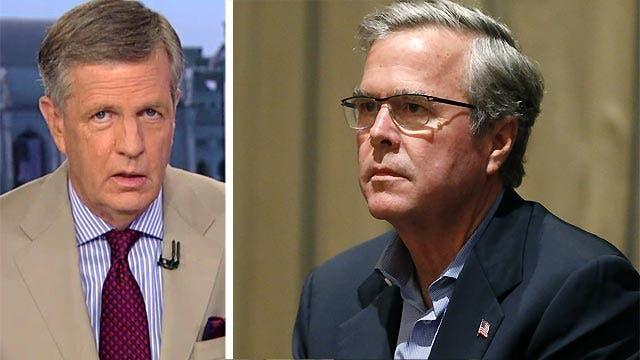 Hume: Jeb Bush's unorthodox course to the White House
