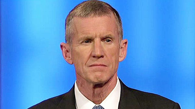 Gen. McChrystal says the US is facing a 'huge threat'