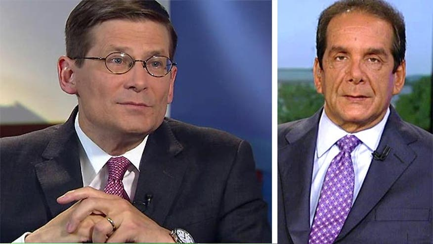 "Charles Krauthammer offered analysis of Bret Baier's exclusive interview with former CIA Deputy Director Mike Morell on ""Special Report with Bret Baier"" on Monday, specifically on the attack on a US consulate in Benghazi, Libya in 2011."