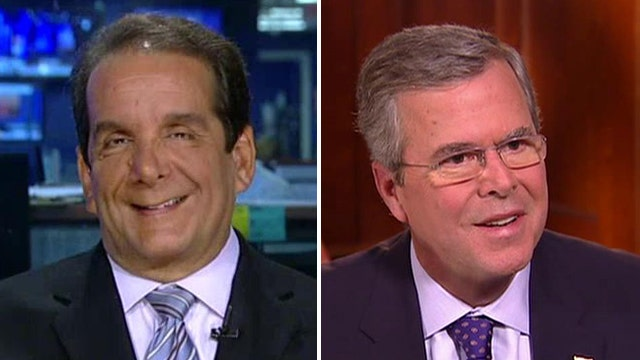 Charles Krauthammer on Jeb Bush's 2016 chances