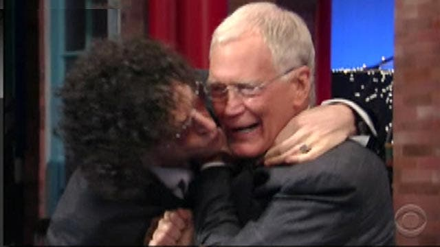 Kennedy's Topical Storm: Letterman Kiss, Staffer Lick & More