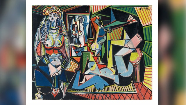 Priciest art ever sold at auction went for how much?