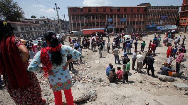 Magnitude-7.3 earthquake rocks Nepal