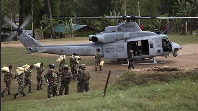 Helicopter missing in Nepal with 6 US Marines on board