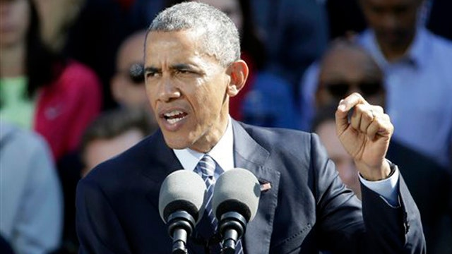 Obama takes dig at Fox News while discussing war on poverty