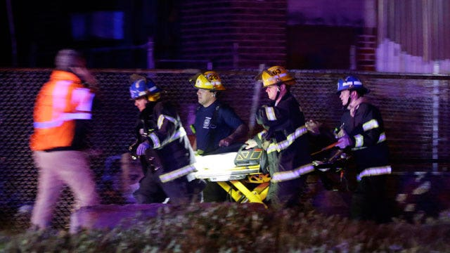 Eyewitness describes Amtrak train crash