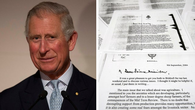 Prince Charles' 'black spider' letters to be made public