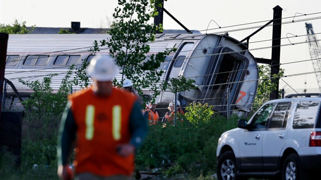 NTSB investigating Amtrak train derailment in Philadelphia
