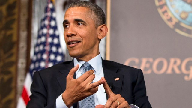 Obama takes jab at Fox News over portrayal of poverty