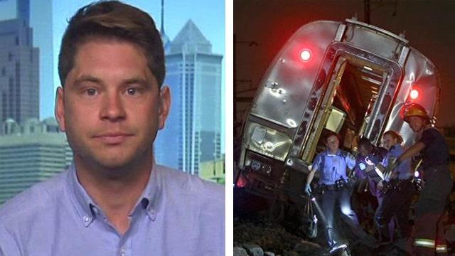 Derailment victim: 'Amtrak has some real explaining to do'