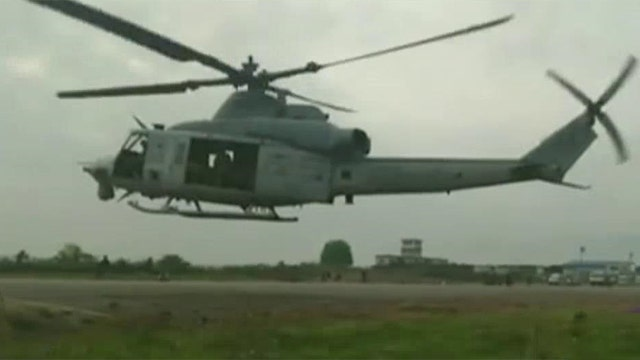 Search continues for US Marine helicopter missing in Nepal