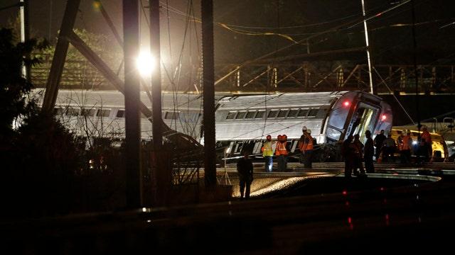 NTSB investigating Amtrak train derailment