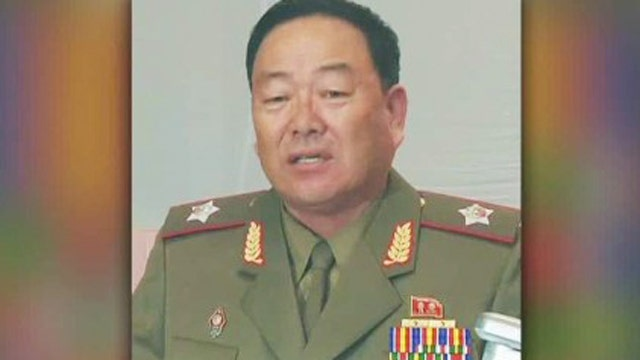North Korea defense chief executed for snoozing at meeting