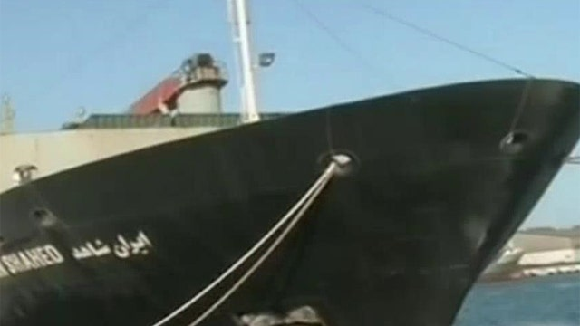 Iran: Attacking cargo ships will 'ignite flames of war'