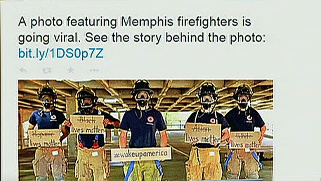 Memphis Fire Department makes statement on race in America