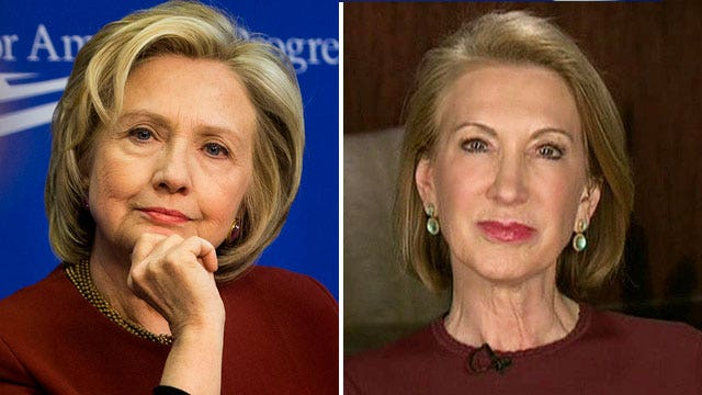 Carly Fiorina blasts Hillary for hiding from the press