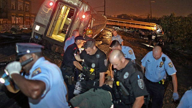 Politicians turn the Amtrak tragedy into a talking point