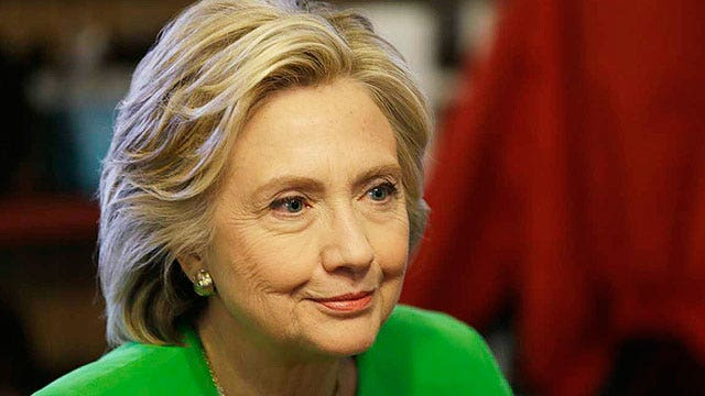 Clock ticking until Clinton answers reporters' questions