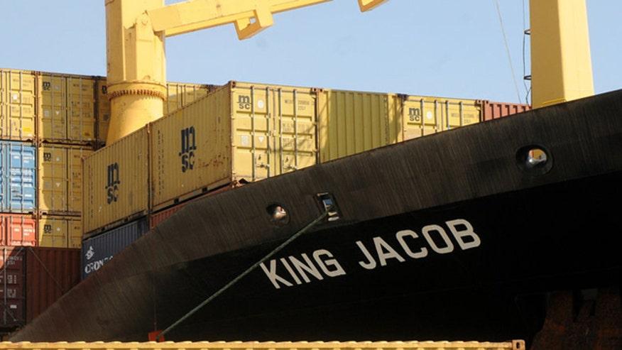 Aid vessel bound for Yemen