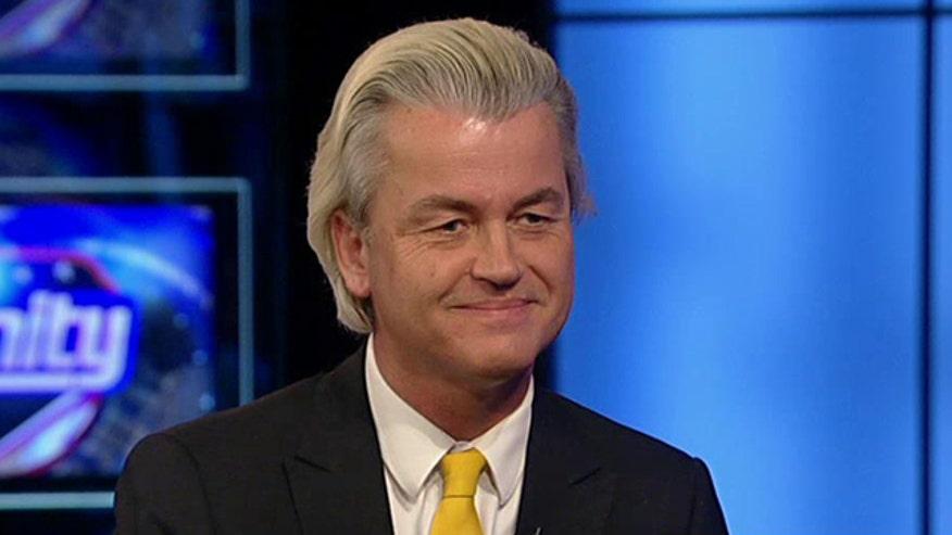 Geert Wilders discusses free speech on 'Hannity'