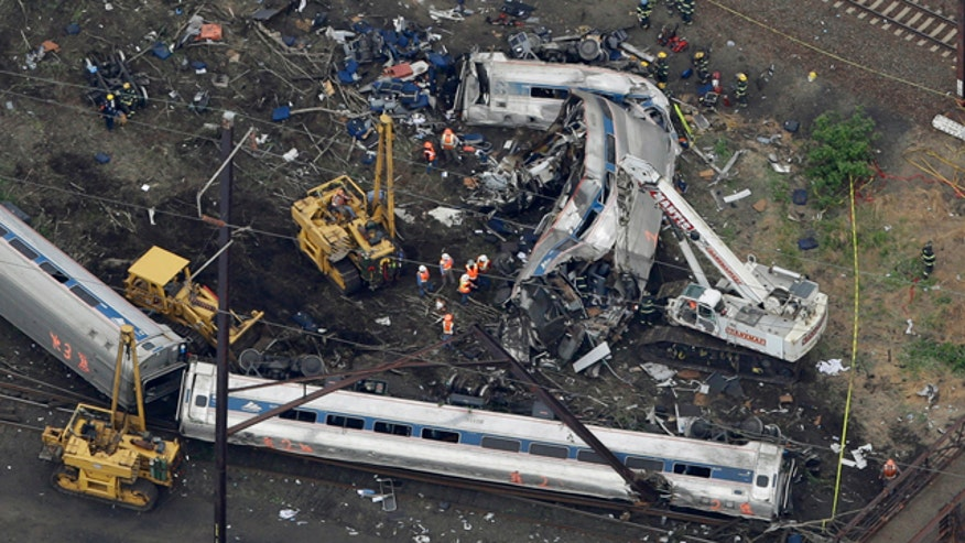 Train's black box shows it was traveling more than 100 mph at time of crash