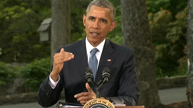 President Obama comments on Syria