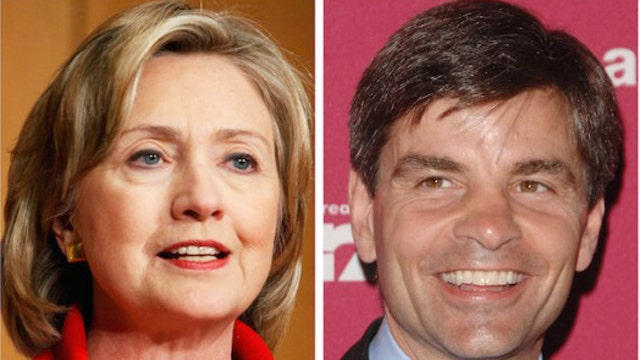 Stephanopoulos fails to disclose Clinton Foundation donation