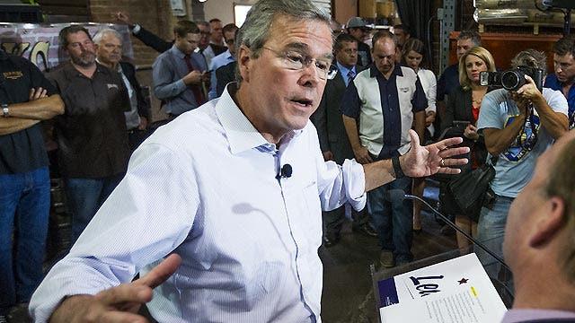 Can Jeb Bush put the Iraq question behind him?