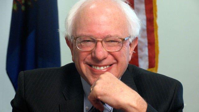 Alan Colmes and Bernie Sanders