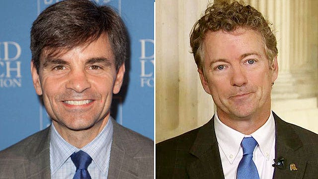 Paul on Stephanopoulos' 'breach of journalistic etiquette'