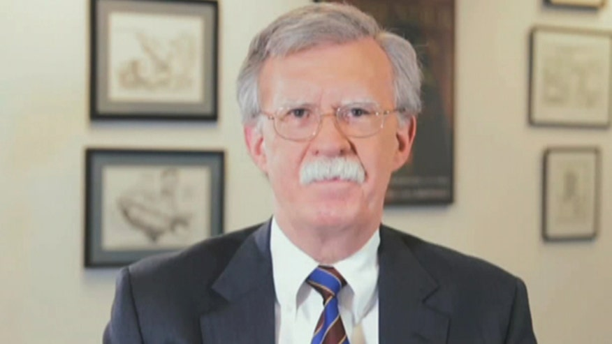 In video released by Bolton's PAC, the former US ambassador to the UN states 'I believe I can make the strongest contribution to our future by continuing as a clear and consistent advocate for a strong Reaganite foreign policy'