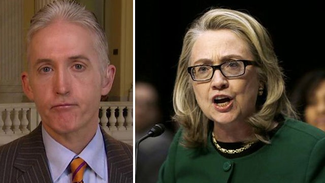 Gowdy still waiting on Benghazi docs from State Dept.