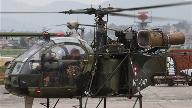 US Marine helicopter wreckage found outside Nepal village