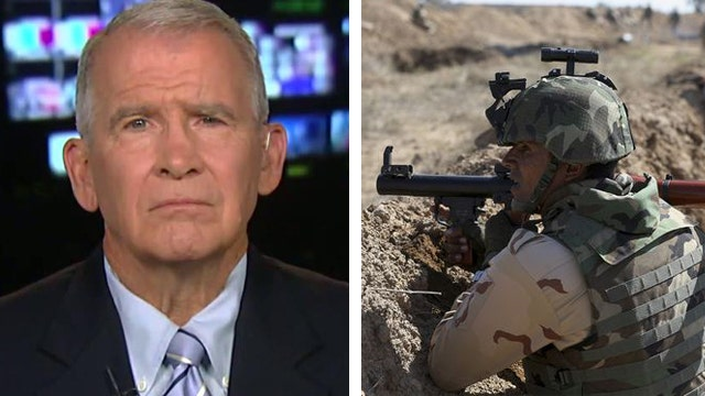 Oliver North sounds off on lack of media access to US forces