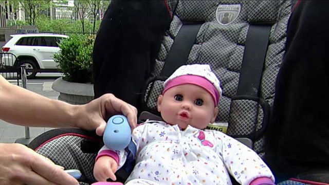 Apps to help protect children from being left in car seats