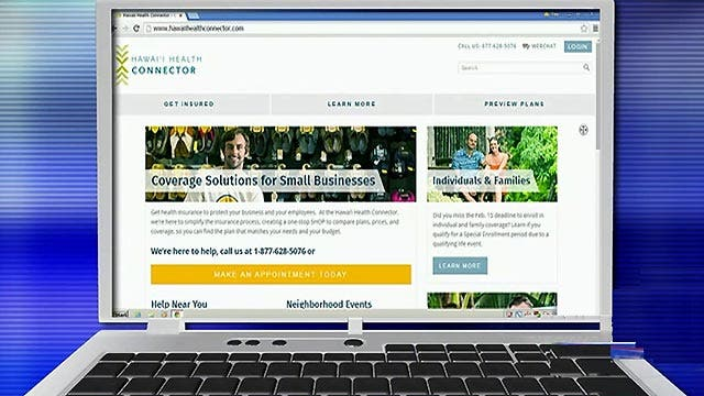 Why Hawaii's ObamaCare exchange is about to fold