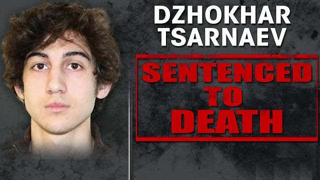 Jury sentences Dzhokhar Tsarnaev to death