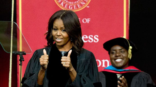 Studio audience sounds off Michelle Obama's divisive remarks