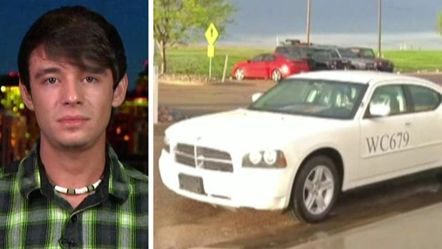 Son of fallen officer given father's car