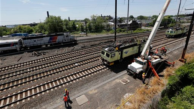 FBI investigating whether a projectile hit Amtrak train