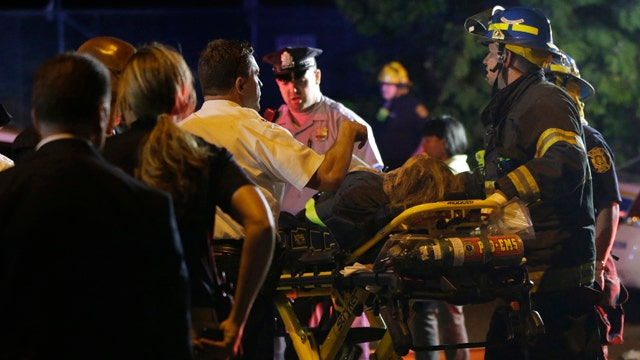 Dealing with injuries in the Amtrak crash